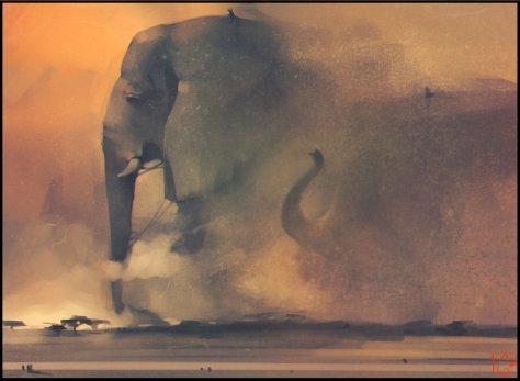 elephant_riders_by_gaudibuendia-d7ax6o7